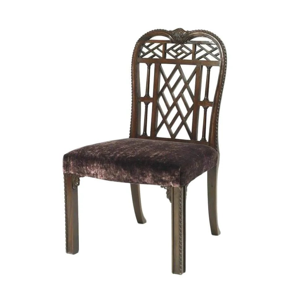 chippendale dining chair wheelchair stand chinese
