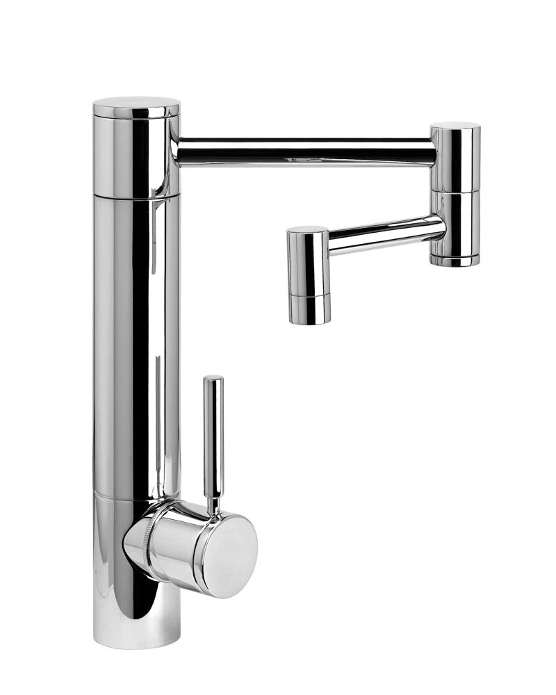 kitchen faucet spout cabinets and countertops hunley 12 articulated lever handle contemporary
