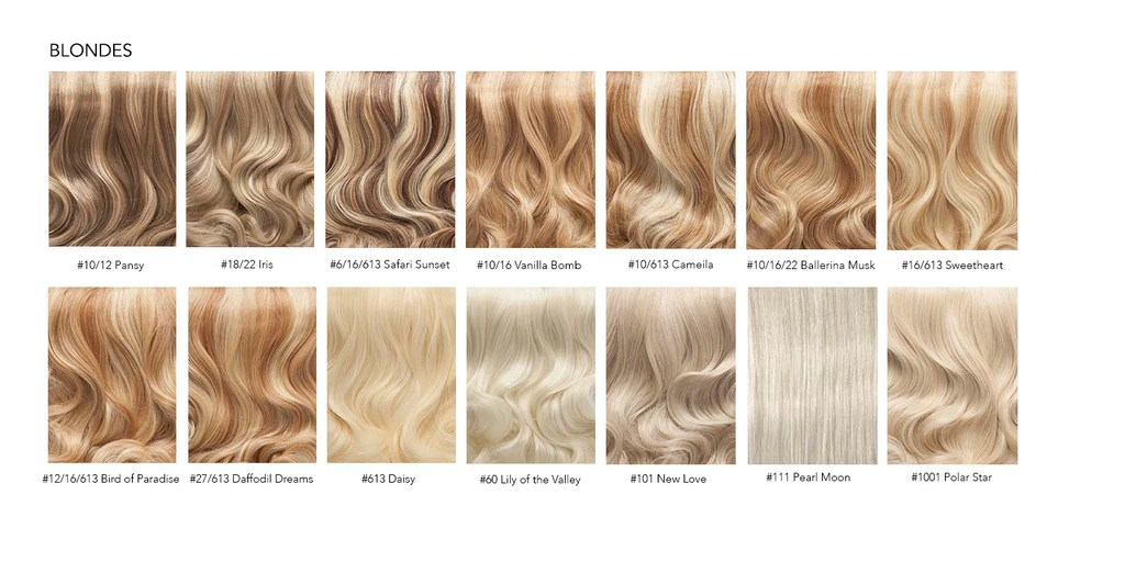 Click here to request free colour samples be delivered your door hair extensions chart also everyday luxury rh strandedinternational