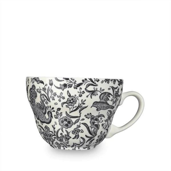 teacups saucers burleigh pottery