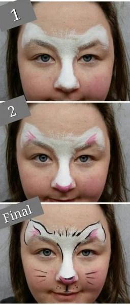 Step By Step Cat Face Paint : paint, Paint, Face:, Videos, Tutorials, Beginners, Facepaint
