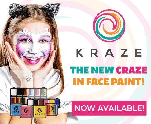 professional face painting supplies