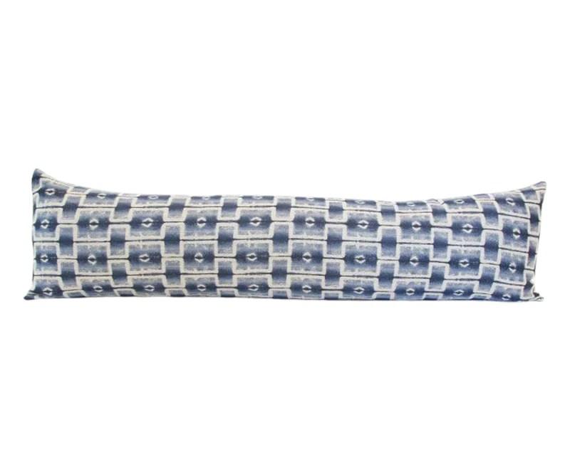 progressive blues extra long lumbar pillow 14x50 homies