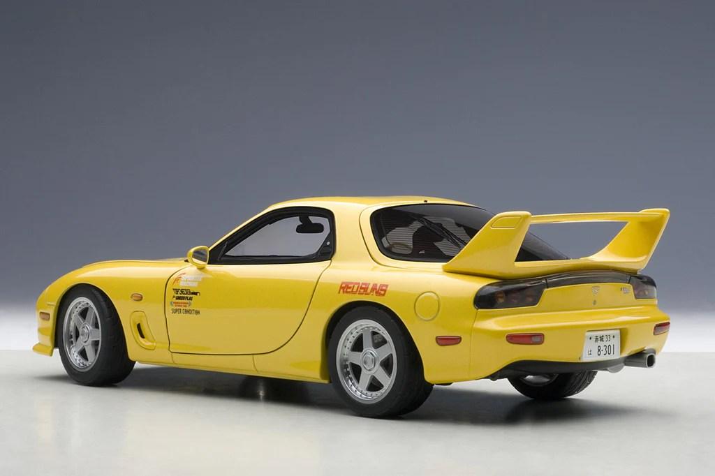 1:18 MAZDA RX-7 (FD) INITIAL D – Biante Model Cars