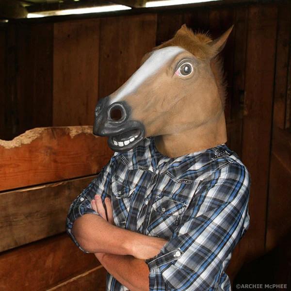 Horse Head Mask The Original Archie McPhee Horse Mask