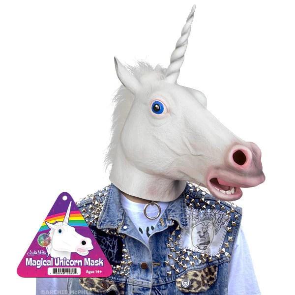 Magical Unicorn Mask Archie McPhee Amp Co