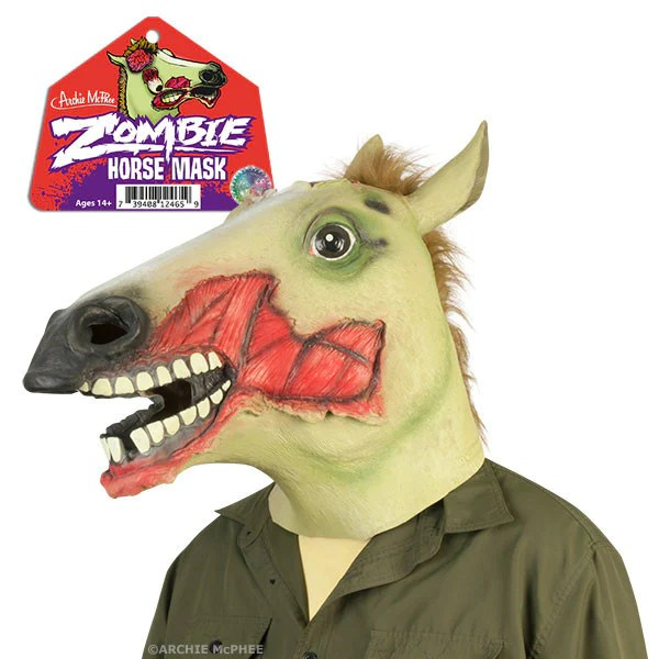 Zombie Horse Mask Archie McPhee Amp Co