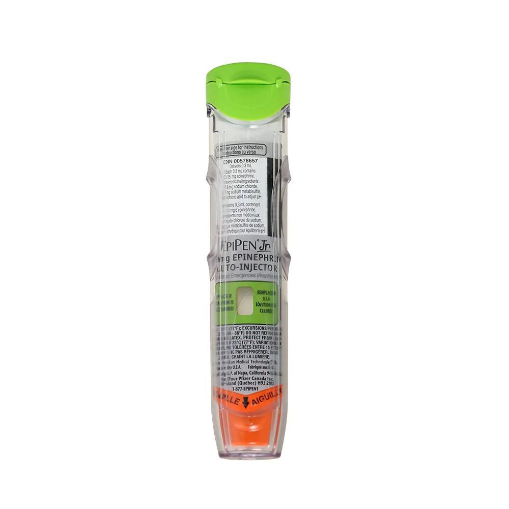 medium resolution of epipen jr epinephrine auto injector child 0 15mg