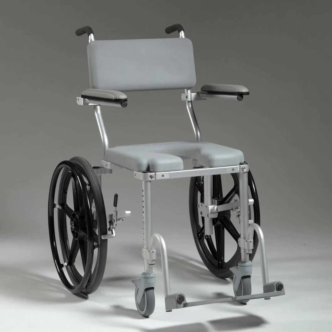 shower wheel chair mainstays rocking multichair 4020 rehab commode wheelchair by nuprodx