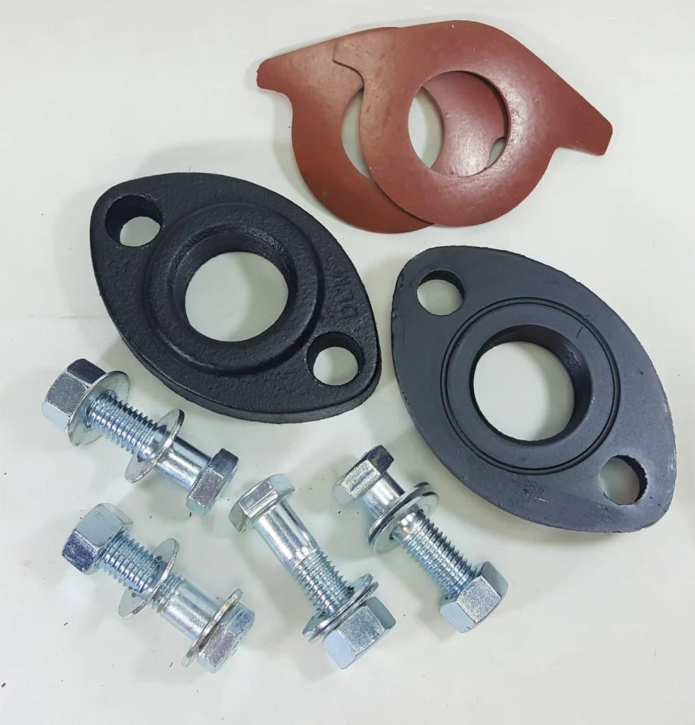 Grundfos 519602 1-Inch GF 15//26 Cast Iron Flange Set