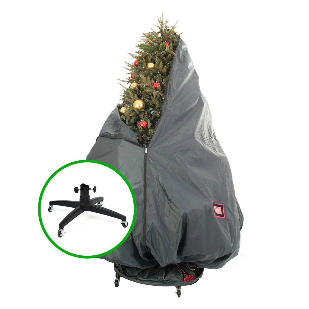 upright artificial christmas tree storage bags