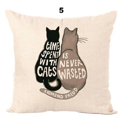 cute cat pillow cases