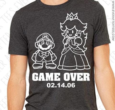 game over mario shirt