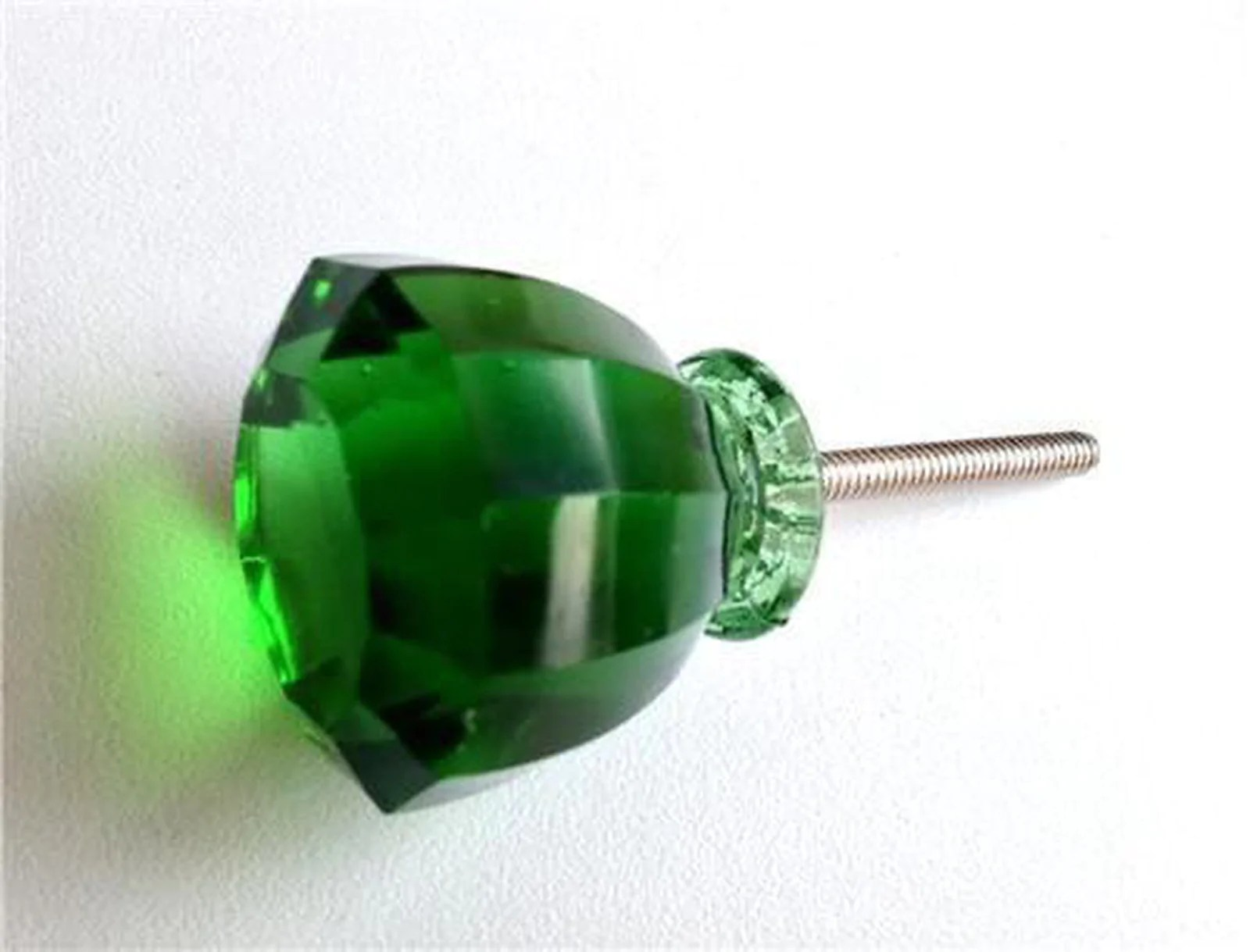 Antique Vintage Emerald Green Glass Cabinet Knobs Drawer Pulls S Dwyer Home Collection