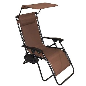 zero gravity chairs canada think chair steelcase gravitti with canopy side table brown
