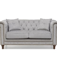 Grey Fabric Sofa Uk Red Chesterfield Bed Mark Harris Montrose 2 Seater Loungeliving Co Boutique