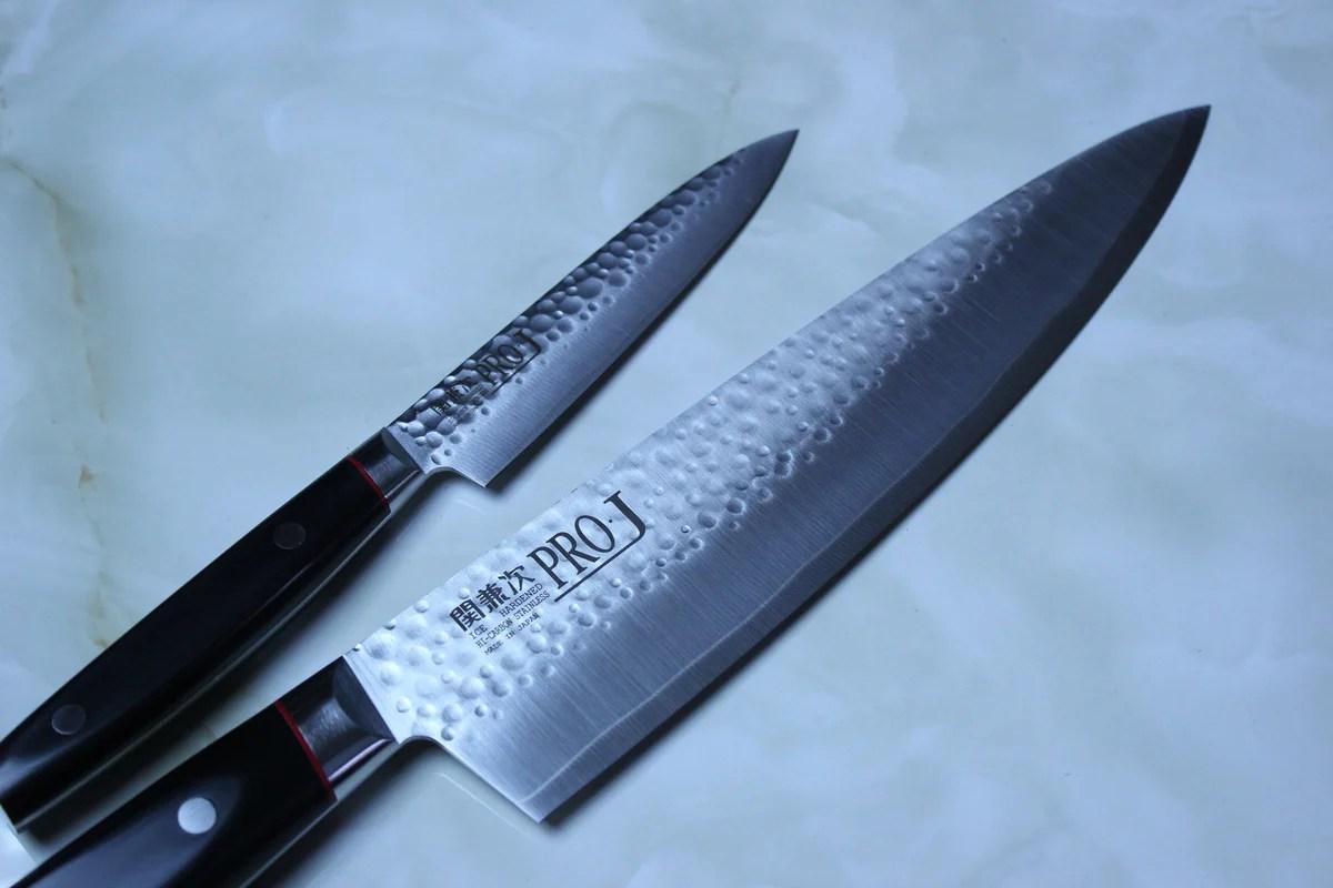 katana kitchen knife black island with seating kanetsugu knives legendary sharpness from seki pro j series za 18 cobalt steel