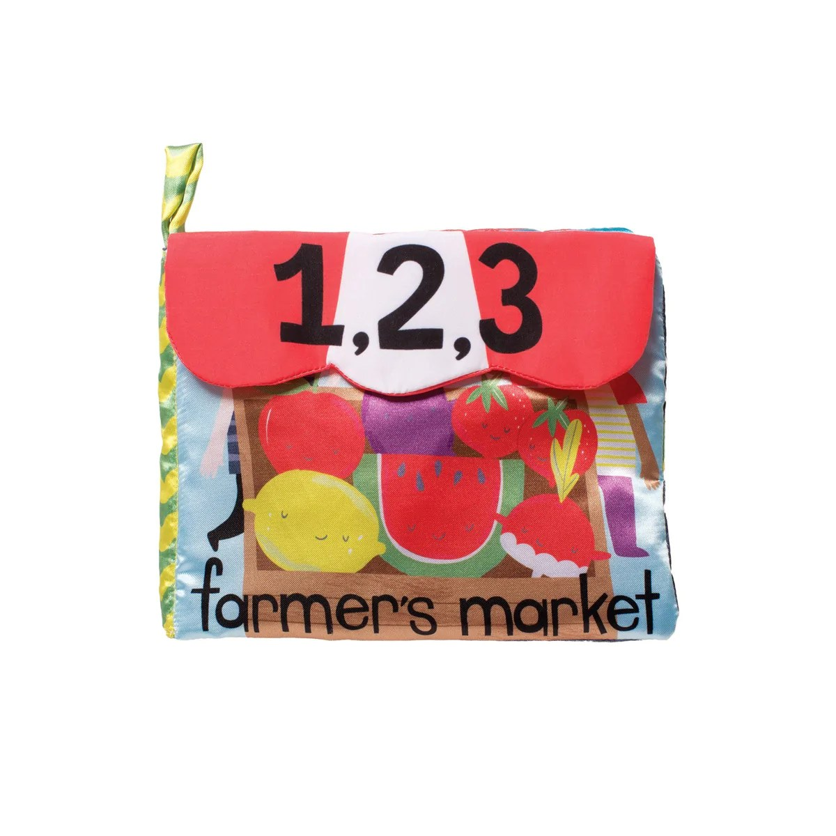 Farmer S Market Counting Soft Baby Book By Manhattan Toy