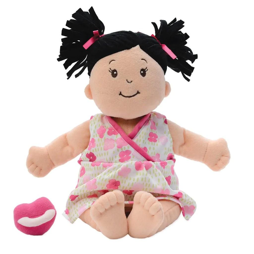 Baby Doll Baby Stella Brunette Nurturing Soft Doll By
