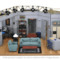 Create Your Own Living Room Set Elegant Want To Seinfeld S Apartment Buy A Collector Edition Replica