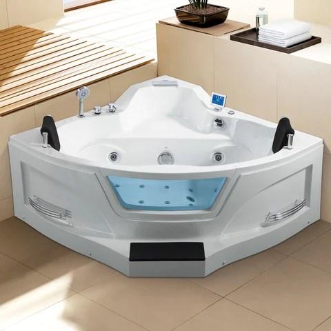 Ariel Arl 084 Two Person Whirlpool Tub Bathvault