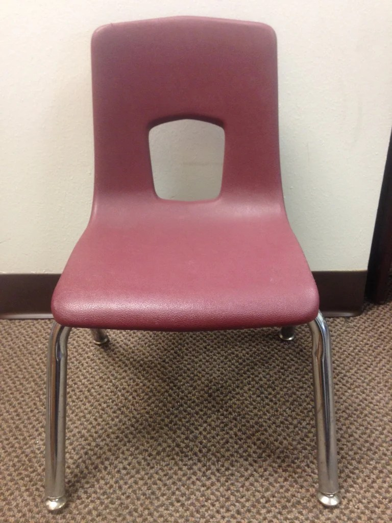 artco bell chairs revolving chair kerala 14in uniflex series burgundy school excess student rf