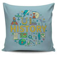 History Pillow Cover  Groove Bags