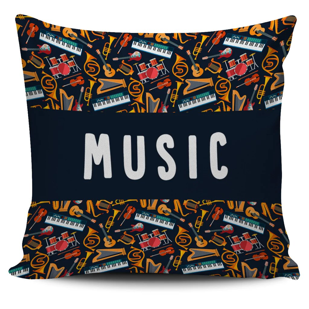 Music Teacher Pillow Cover  Groove Bags