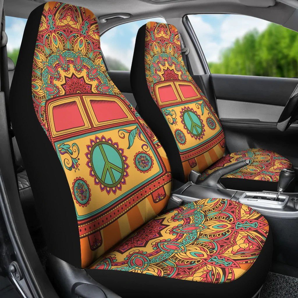 Hippie Van Car Seat Covers  Groove Bags