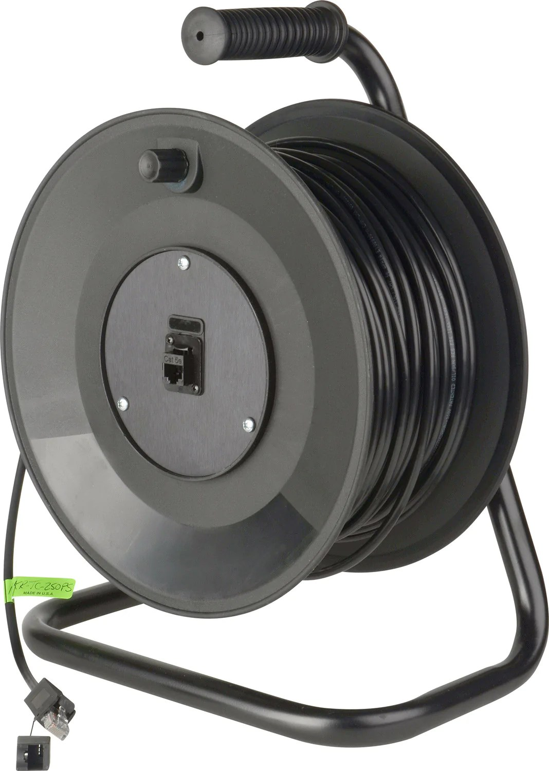 buy cable reel connect n go reel belden 7923a cat5e with pro shell connectors 250ft [ 1068 x 1500 Pixel ]