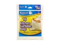 kitchen garbage bags building islands 20x22 16 pack kodiak brantford surplus