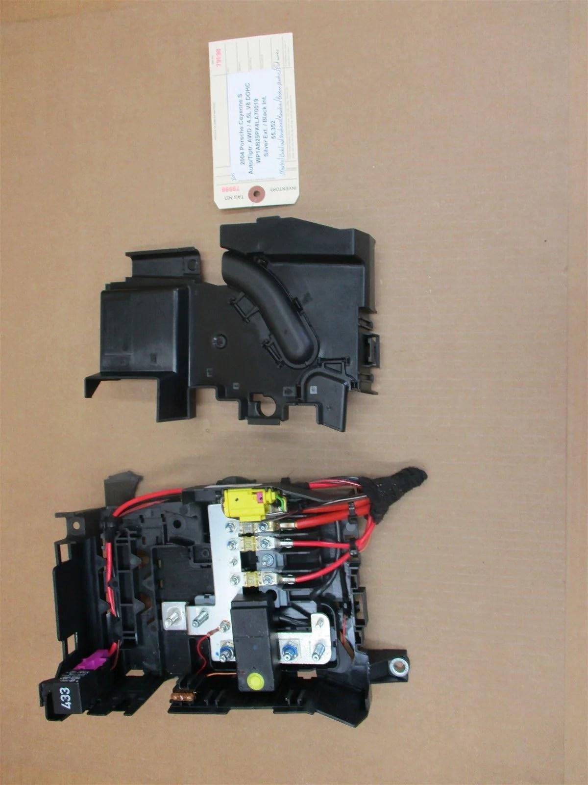 hight resolution of 04 cayenne s porsche 955 fuse box relay 7l0937548 3d0951253a 7l0937555 55 352