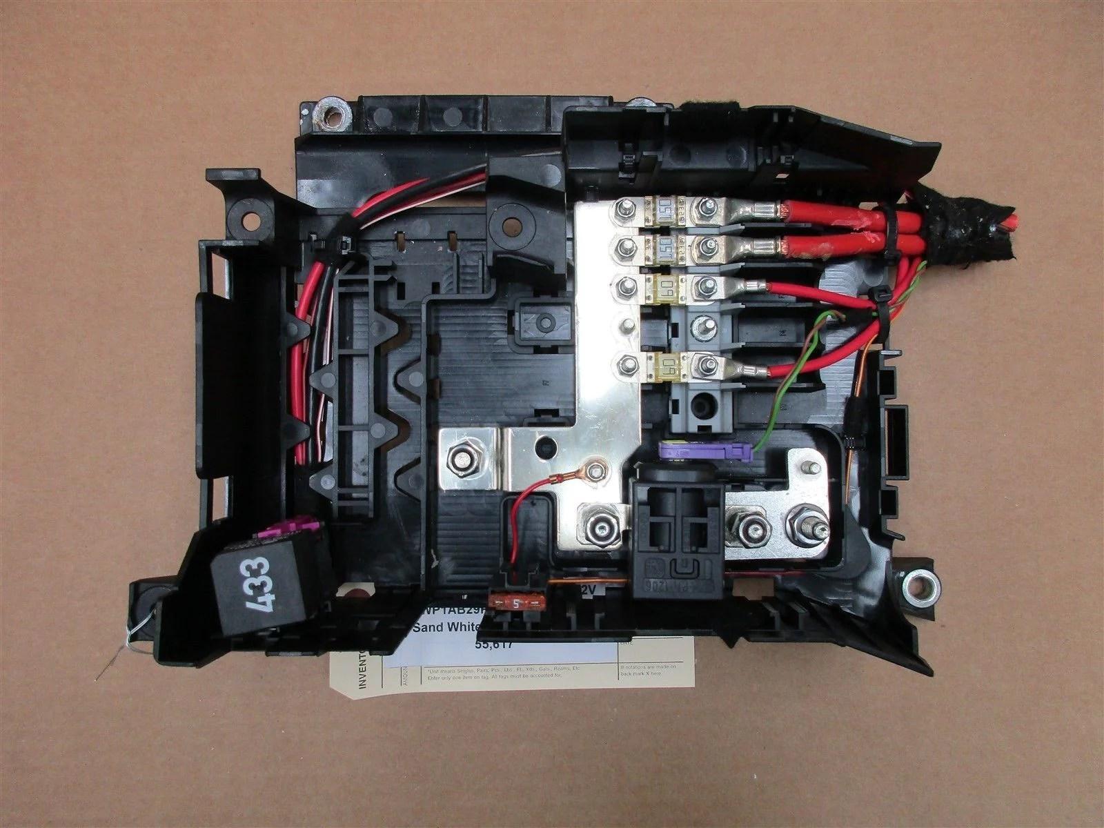 medium resolution of 08 cayenne s awd porsche 957 fuse box relay 7l0937548c 3d0951253a 55 617
