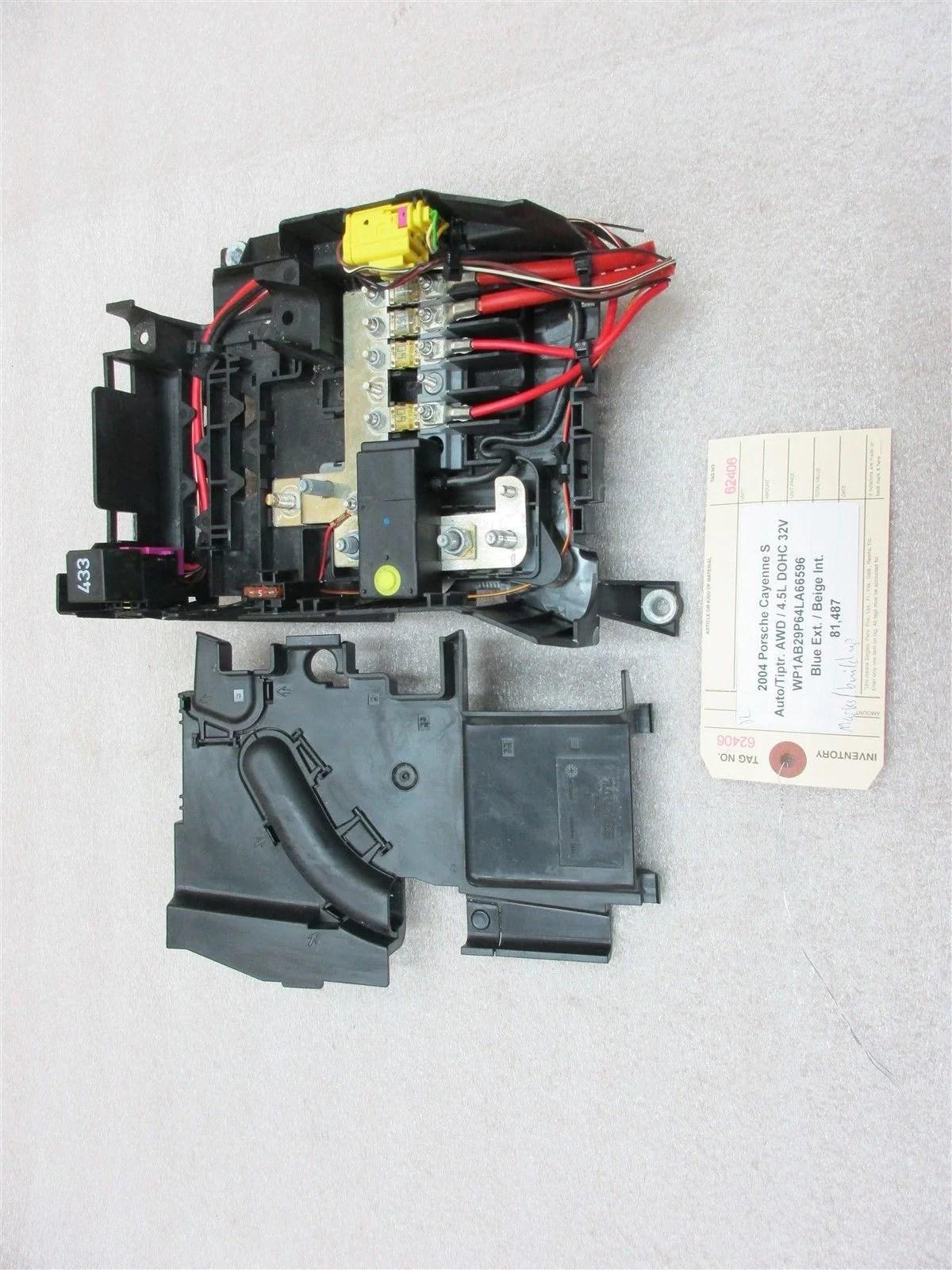 medium resolution of 04 cayenne s awd porsche 955 fuse box relay 7l0937548a 7l0937555 8104 cayenne s awd porsche