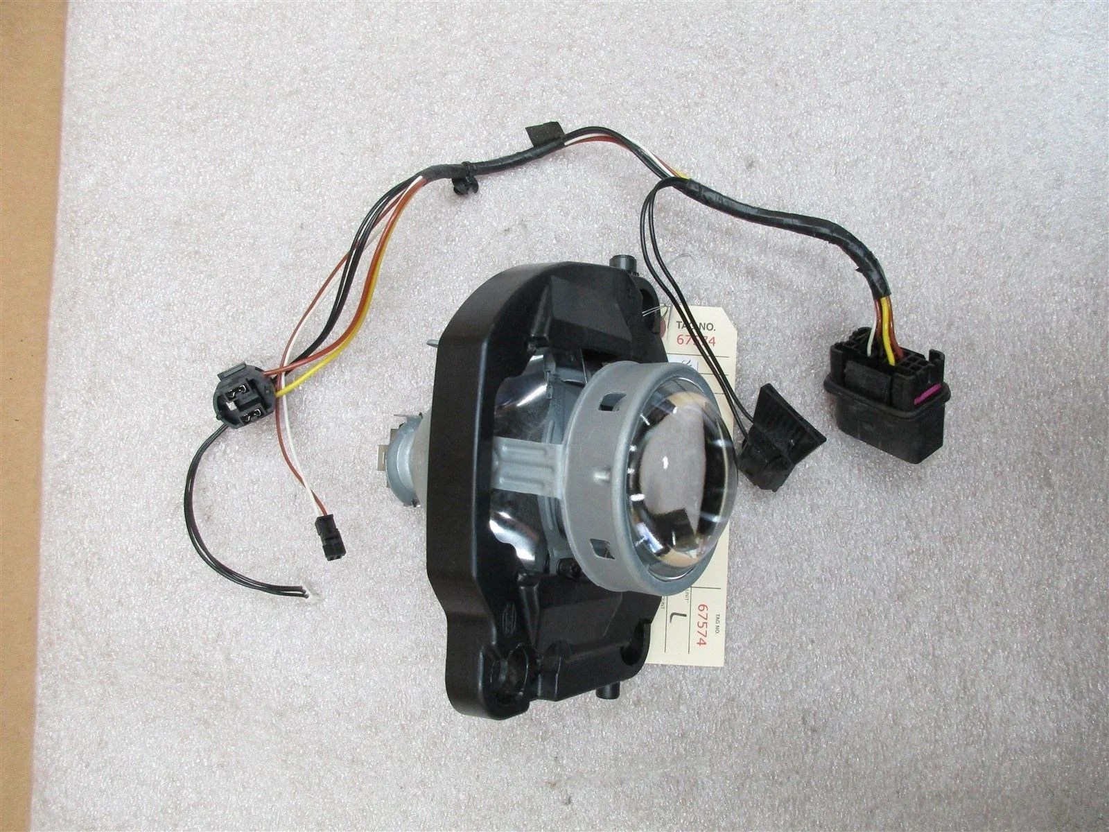 hight resolution of 08 cayenne s awd porsche 957 l headlight hardware wiring harness 122 873