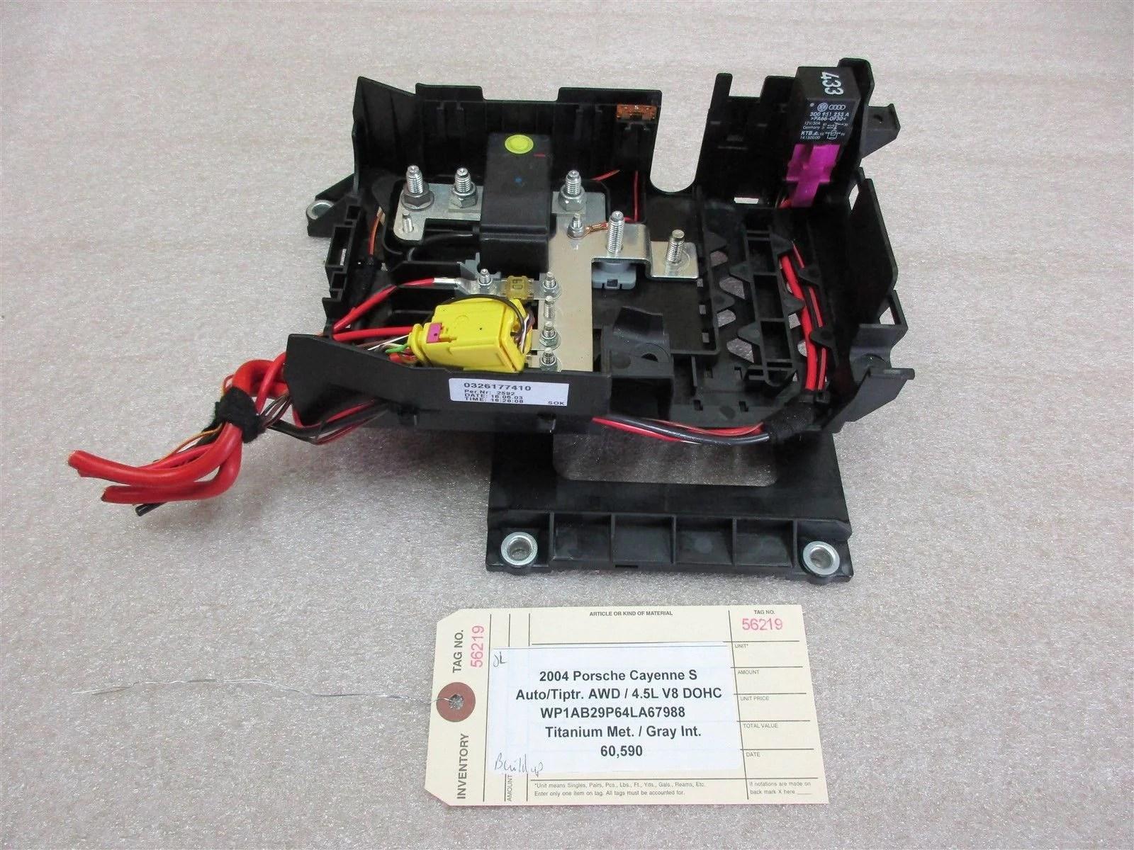 small resolution of 04 cayenne s awd porsche 955 seat fuse box relay 7l0937548 2012 jaguar xj fuse box 2004 porsche cayenne fuse box