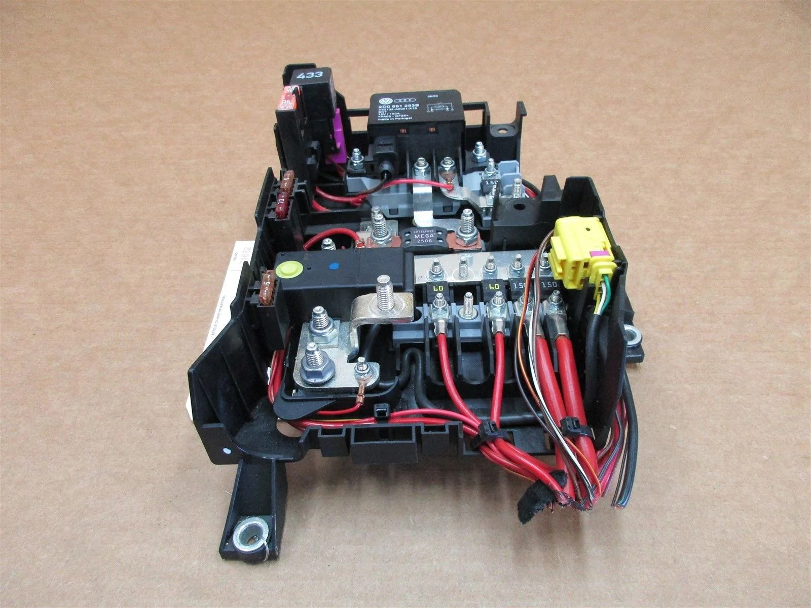 hight resolution of 04 cayenne turbo awd porsche 955 fuse box relay 7l0937548a 2d0951253b 88 808