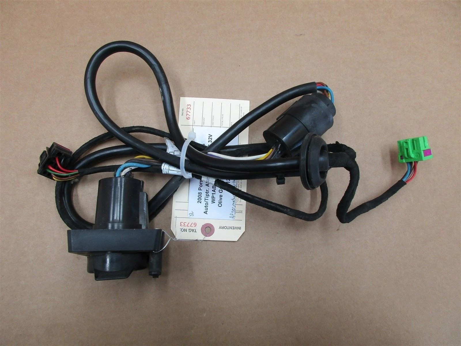 small resolution of 08 cayenne s porsche 957 aftermarket wiring harness u haul 327007321003 122 873