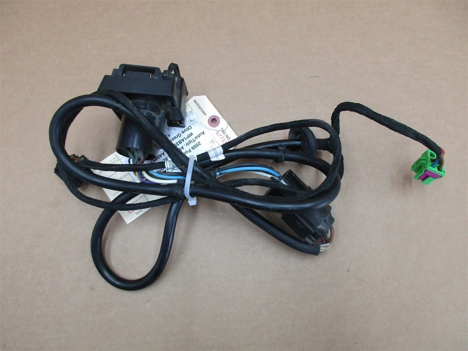 hight resolution of 08 cayenne s porsche 957 aftermarket wiring harness u haul 327007321003 122 873