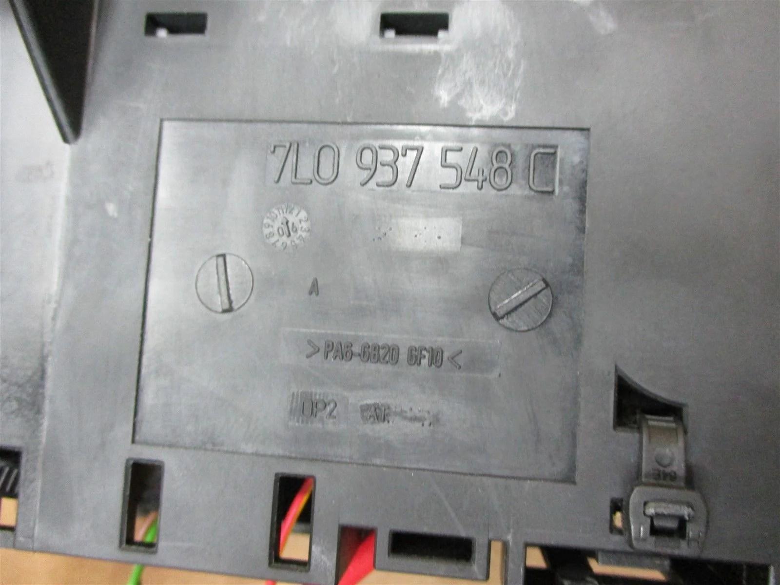 hight resolution of 08 cayenne awd porsche 957 fuse box 7l0937548c 3d0951253a 55 471