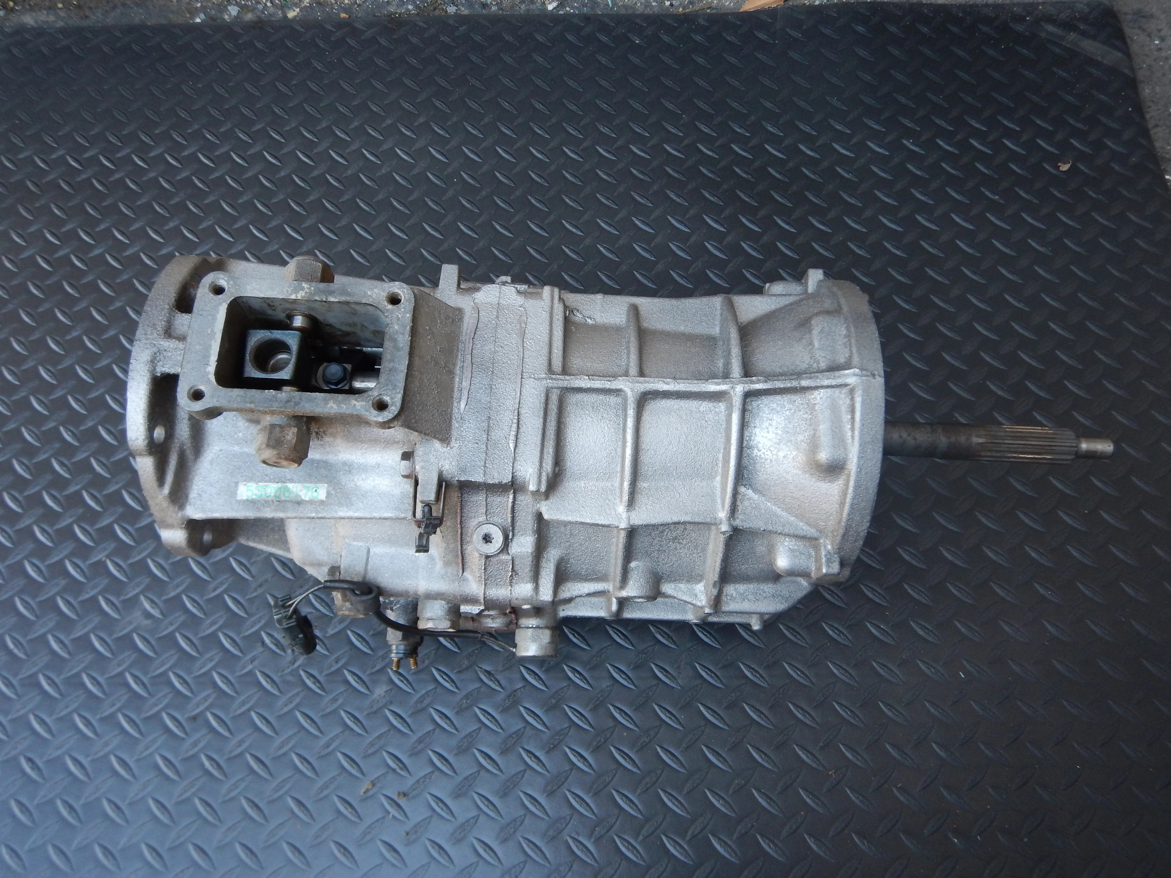 hight resolution of 90 93 wrangler yj ax15 manual transmission 6cyl