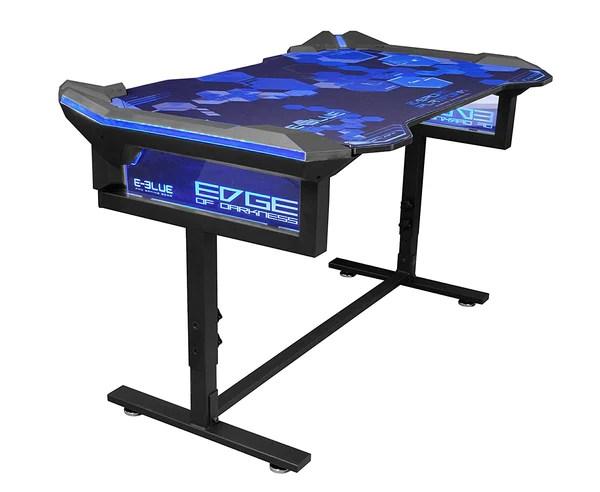 E-Blue RGB Gaming Desk EGT004 (1.35M) - E-Blue Gaming USA