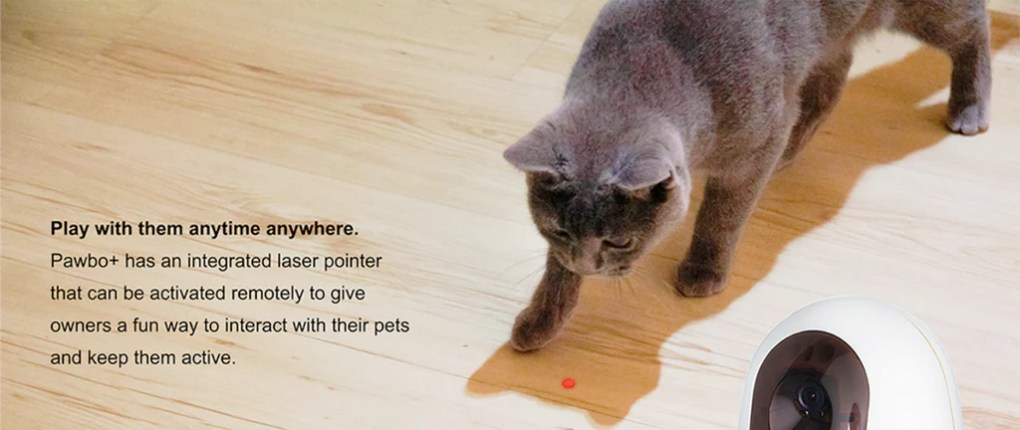 Pawbo+ Smart Pet Camera Laser Pointer