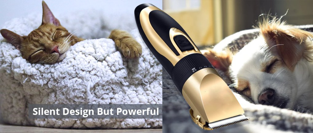 Smartpaw Pet Shaver is suitable for dogs and cats