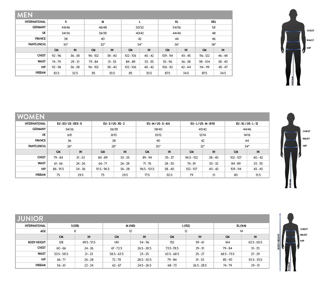 also scott clothing size chart bikes  gear ltd rh