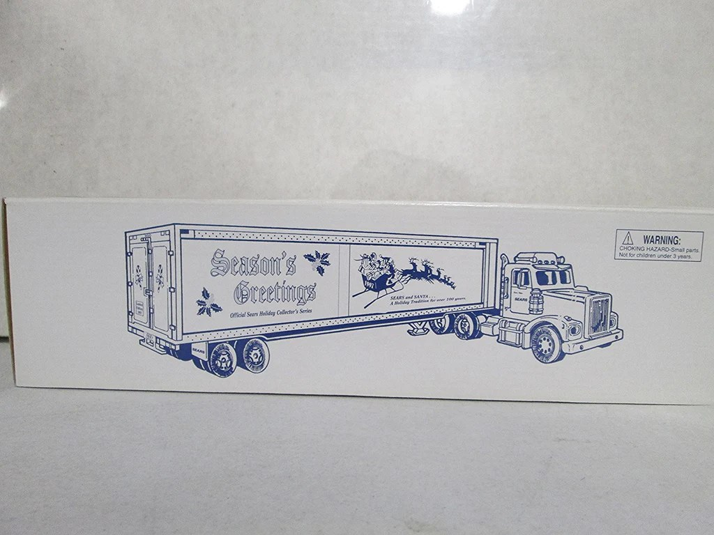 taylor sears 18 wheel box trailer truck 1 32 limited edition aj collectibles [ 1024 x 768 Pixel ]