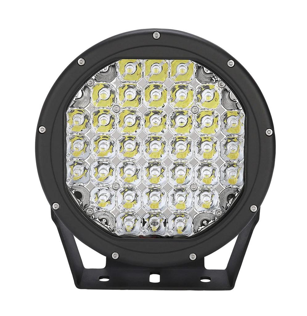2 x 9 inch 185w cree led white night driving lights wiring [ 996 x 1024 Pixel ]