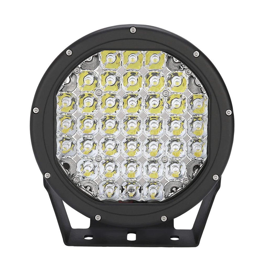 hight resolution of 2 x 9 inch 185w cree led white night driving lights wiring