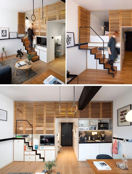 10 Stair Design Ideas For Small Spaces | Staircase For Small Area | Beautiful | Spiral | Compact | Low Cost | Living Room