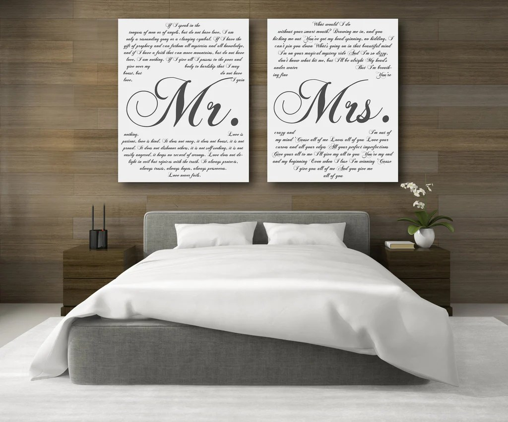 mr and mrs vows